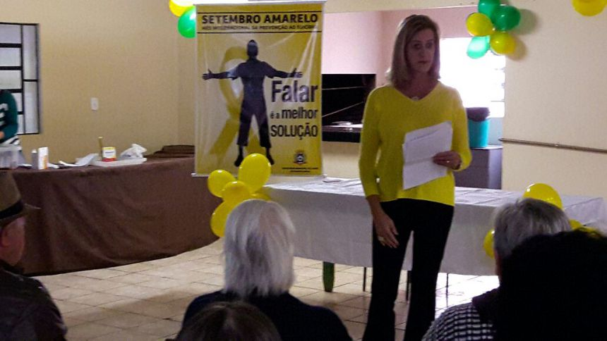 Prefeitura de Manoel Ribas realiza Campanha do Setembro Amarelo