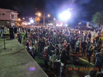 Banda do Exército anima público na Praça Interventor Manoel Ribas