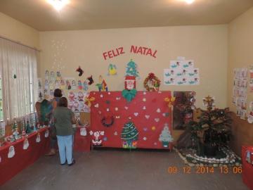 CENTRO DE EDUCAÇÃO INFANTIL REALIZADA CONFRATERNIZAÇÃO