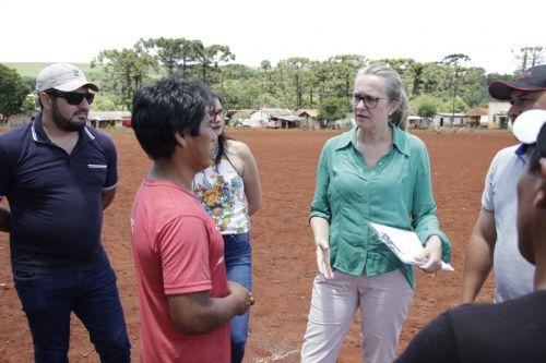 Aldeia Indígena Ivaí receberá novo campo de futebol
