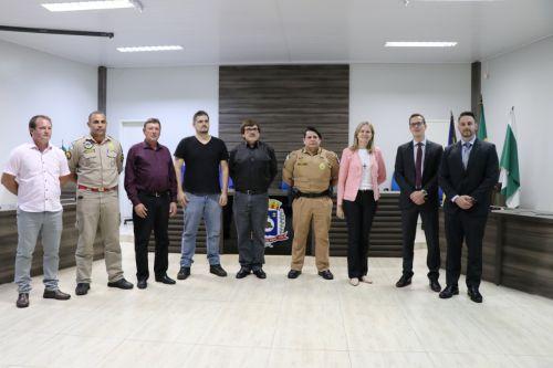Conselho de Segurança de Manoel Ribas reelege presidente