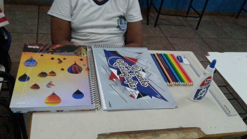Autarquia Municipal de Educação entrega material de apoio pedagógico para os alunos da rede municipal