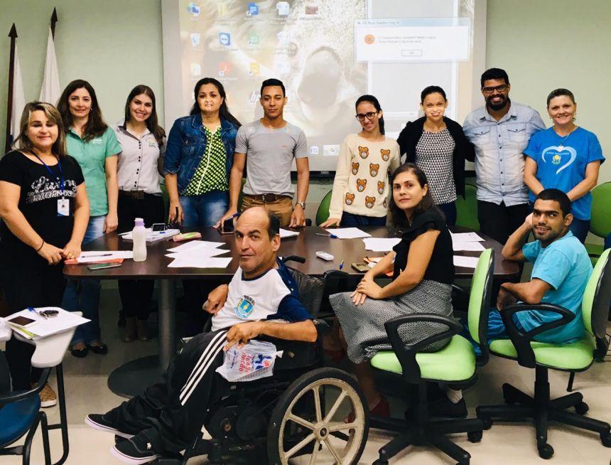 Reunião do Conselho Municipal de Direitos da Pessoa com Deficiência