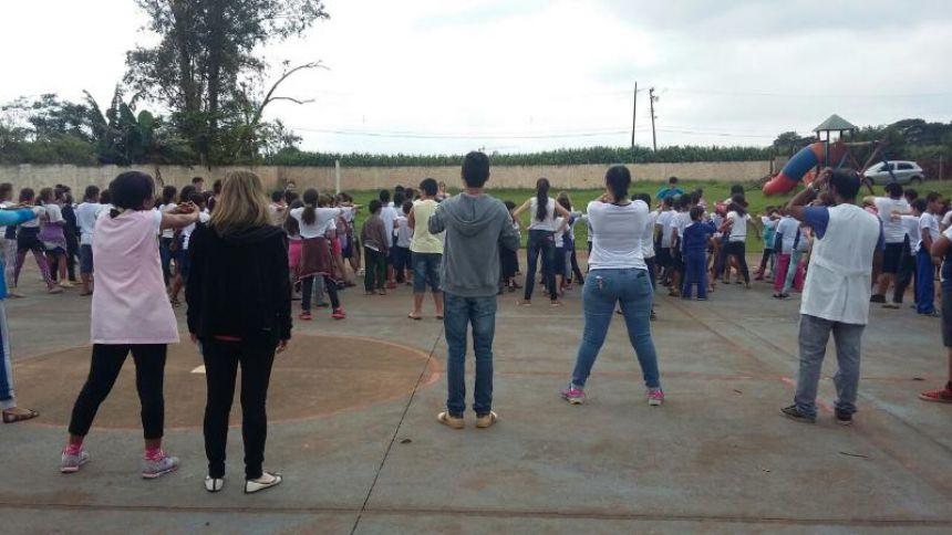 Alunos do Ensino Fundamental participam do Dia do Desafio