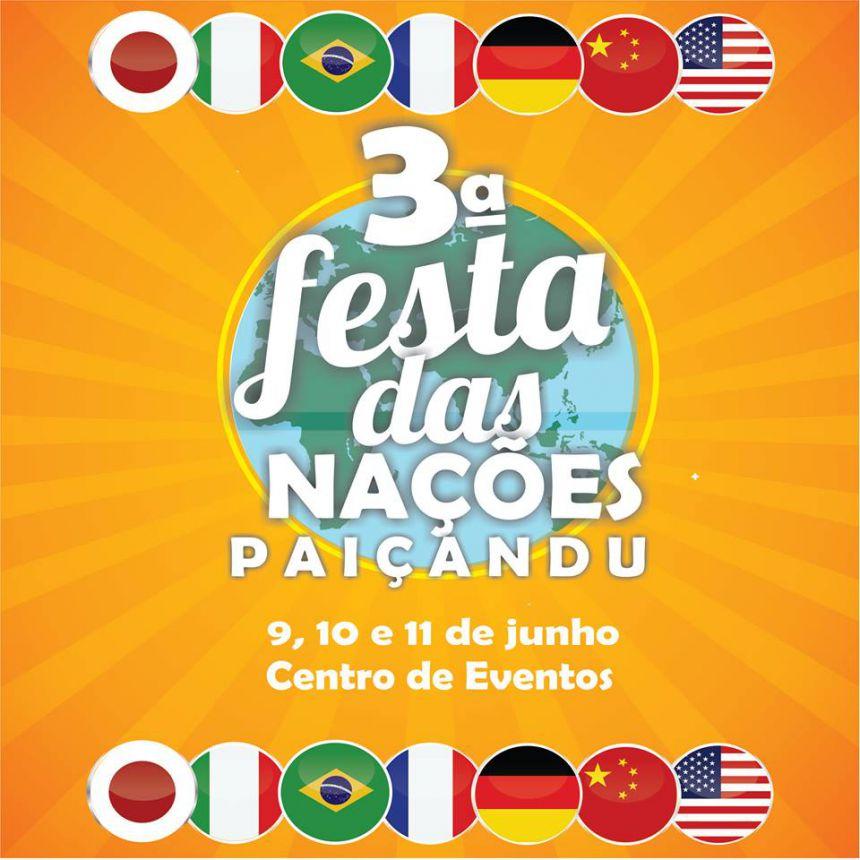 3ª Festa das Nações e Feira de Artesanato em Paiçandu