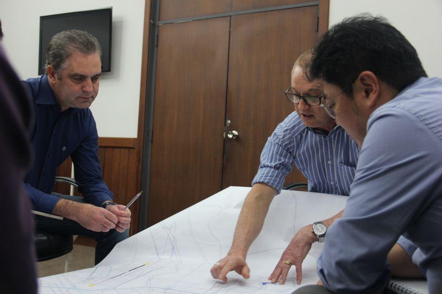 Prefeitos de Paiçandu e Maringá se reúnem para discutir nova demarcação de limite entre os municípios