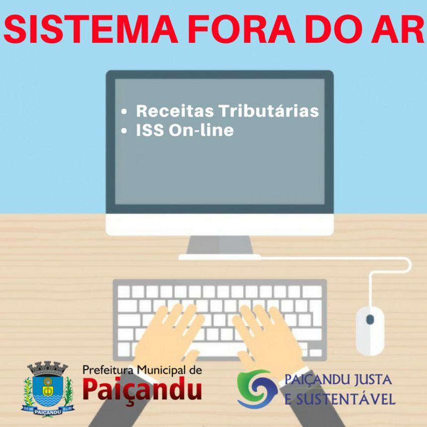 SISTEMA OFF-LINE PARA ATUALIZAÇÃO SISTEMA