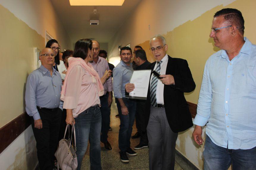 Hospital São José recebe o secretário de estado da saúde Antônio Carlos Nardi
