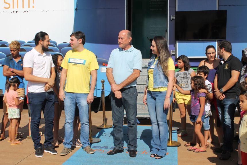Paiçandu recebe o projeto CINEMA É PRA VOCÊ, SIM!