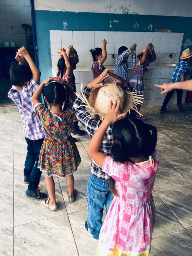 Festa Junina da Escola Angelo Banki