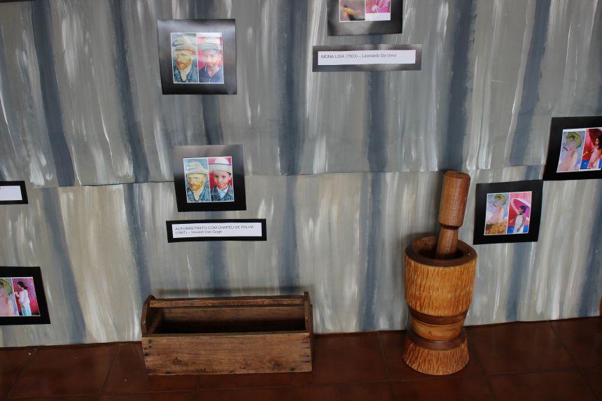 Mostra de artes na Escola Prudente de Morais