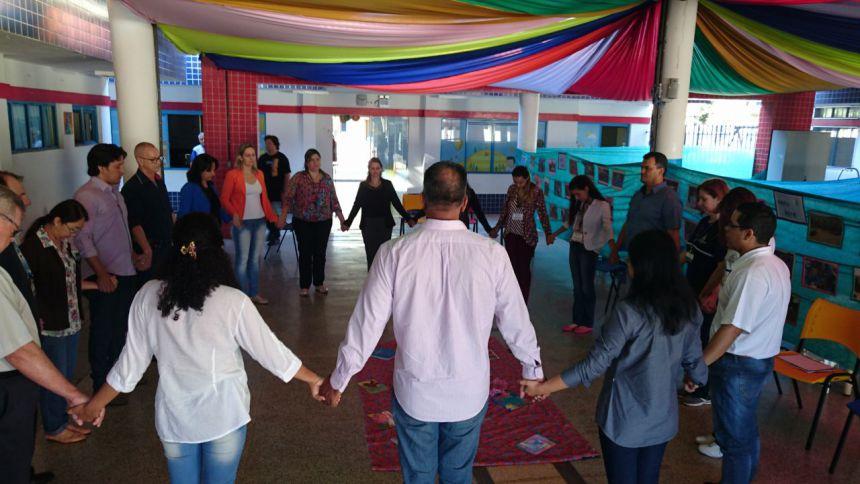 Café comemorativo reforça vínculos entre o município de Paiçandu e o Grupo Marista de Solidariedade