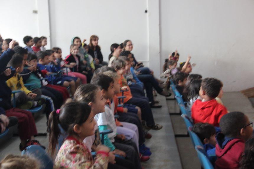 CMEI  Vereador Anisio Marconi e APAE participam de palestra sobre Alimentação Saudável