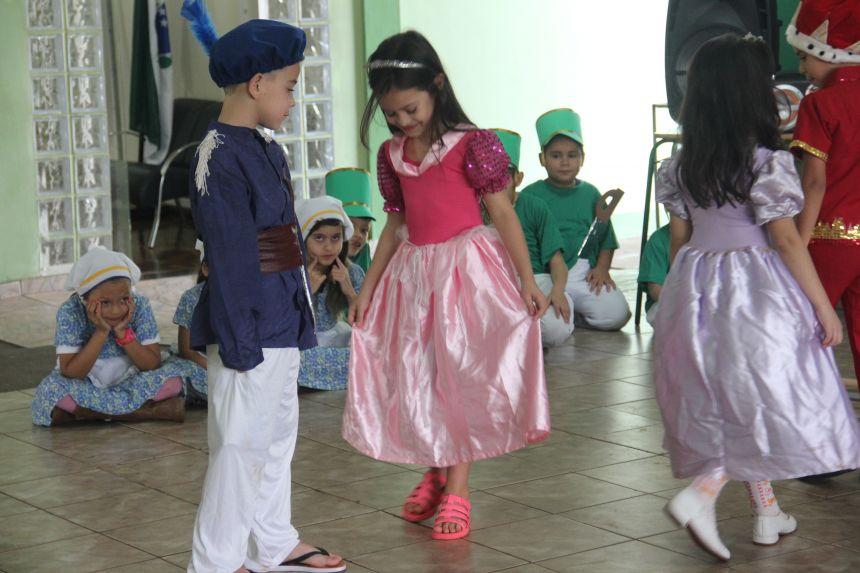 Escola Municipal celebra Semana da Pátria