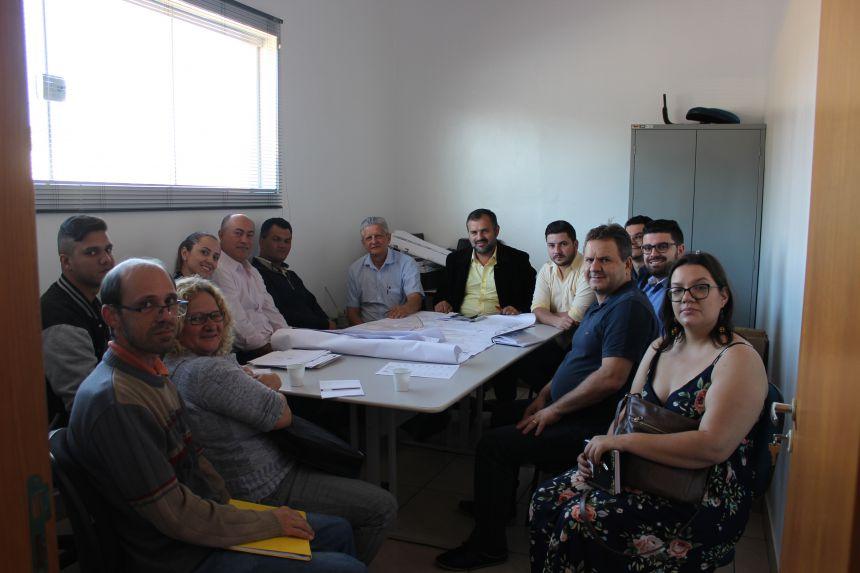 Membros do ConCidades se reúnem na prefeitura de Paiçandu