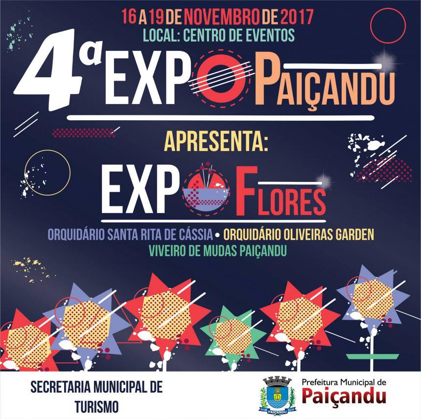 Secretaria de Turismo apresenta: ExpoFlores