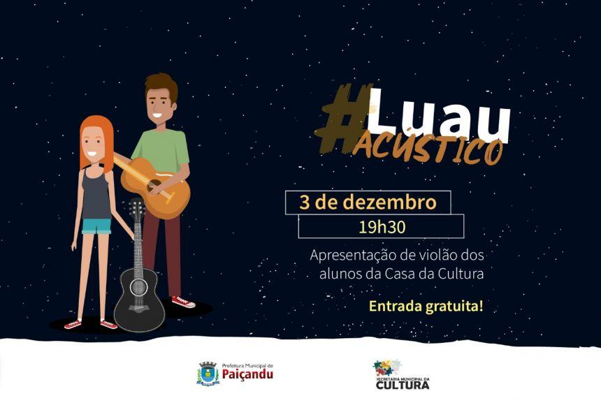 Convite | Luau Acústico