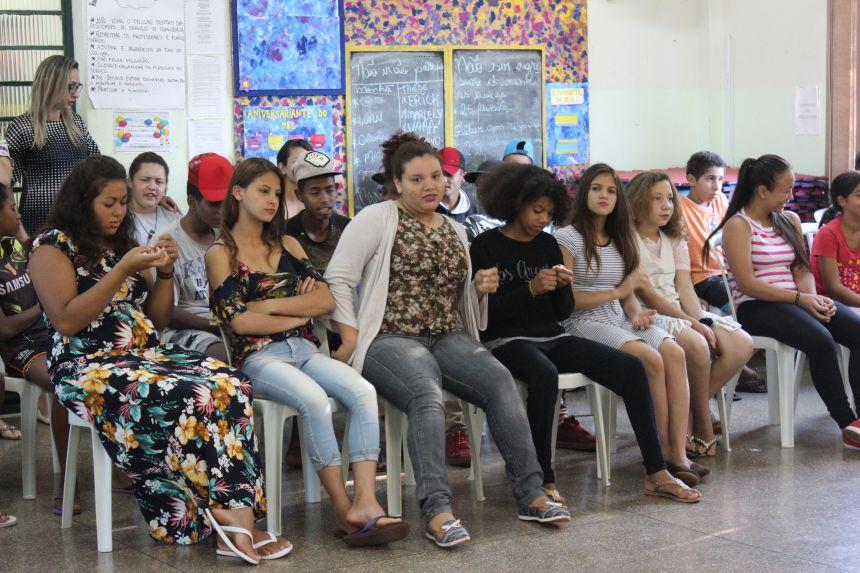 Secretaria de Assistência Social realiza atividade da campanha contra o trabalho infantil no carnaval