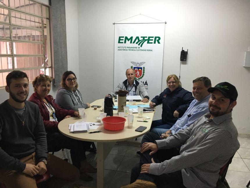 Comissão dos agricultores realiza reunião para levantamento de resultados do Município