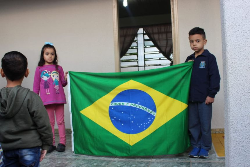Semana da pátria em Paiçandu: Escolas e CMEI celebram patriotismo