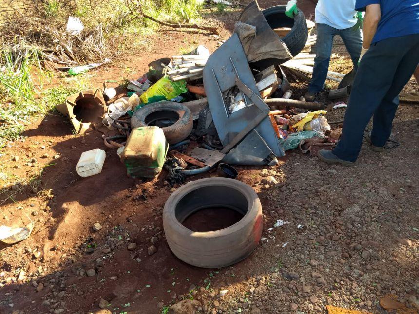 Secretaria de serviços públicos realiza mutirão no Jardim Bela Vista 2