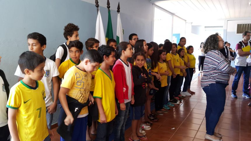 7 de setembro tem comemoração na Escola Prudente de Morais