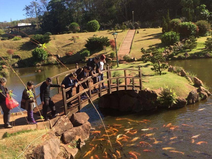 Secretaria de esportes e lazer realiza passeio no Parque do Japão