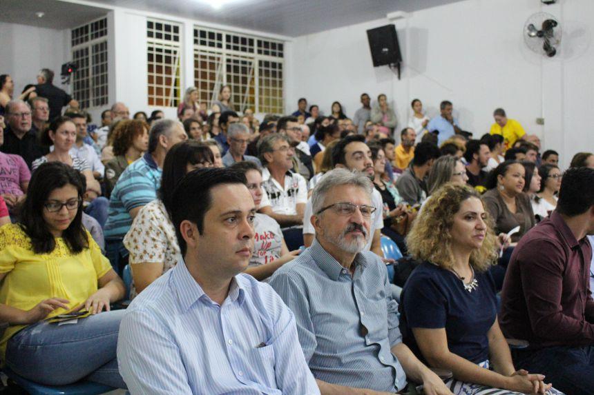 Audiência Pública sobre o Fracking reúne centenas de pessoas na Casa da Cultura