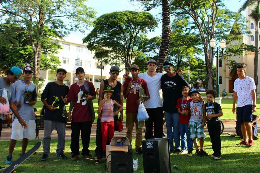 Game of Skate realiza premiação em quatro categorias em Paiçandu