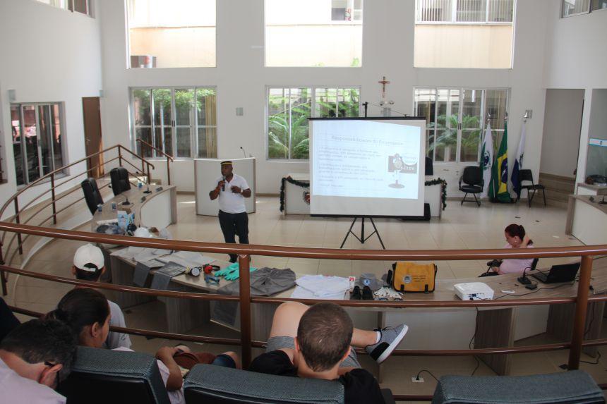 Conclusão do curso de formação dos Agentes de Combate as Endemias