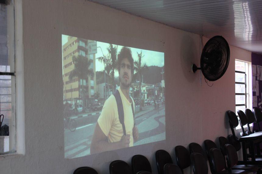 """Alunos da oficina de judô assistiram o filme """"A grande vitória"""""""