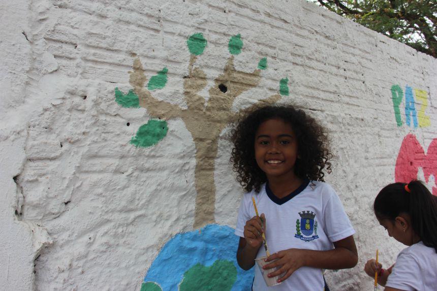 Muralismo na Escola Prudente de Morais
