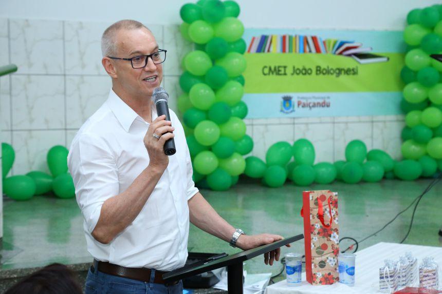 CMEI João Bolognesi realiza formatura do Infantil V