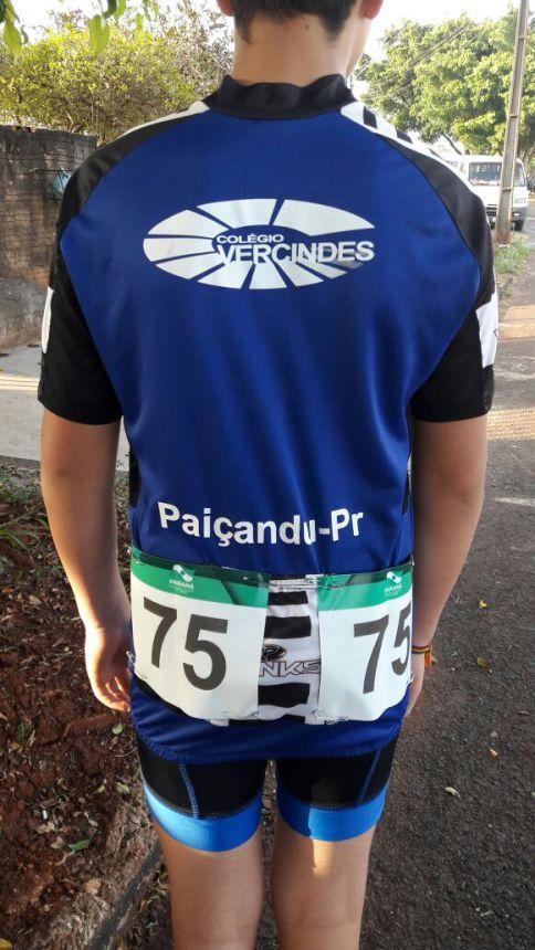 Aluno de Paiçandu representa o município no 64º Jogos Escolares do Paraná