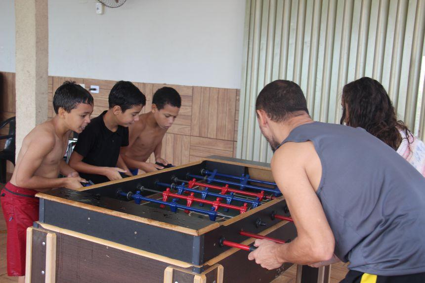 Secretaria de Assistência Social realiza manhã recreativa com crianças do SCFV