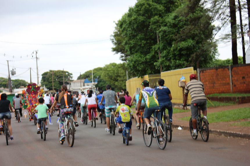 1º Passeio Ciclístico de Paiçandu reúne mais de 200 participantes
