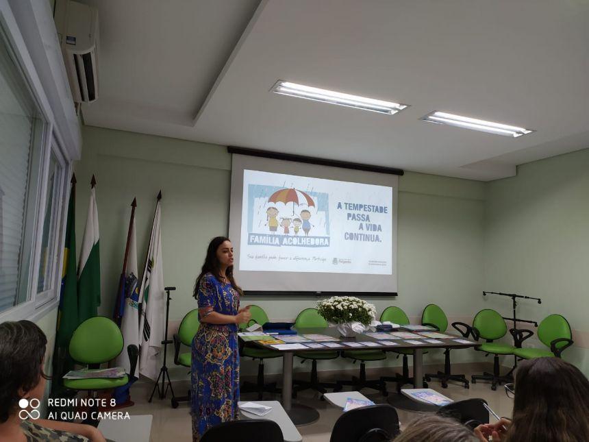 Apresentação do Serviço Família Acolhedora de Paiçandu