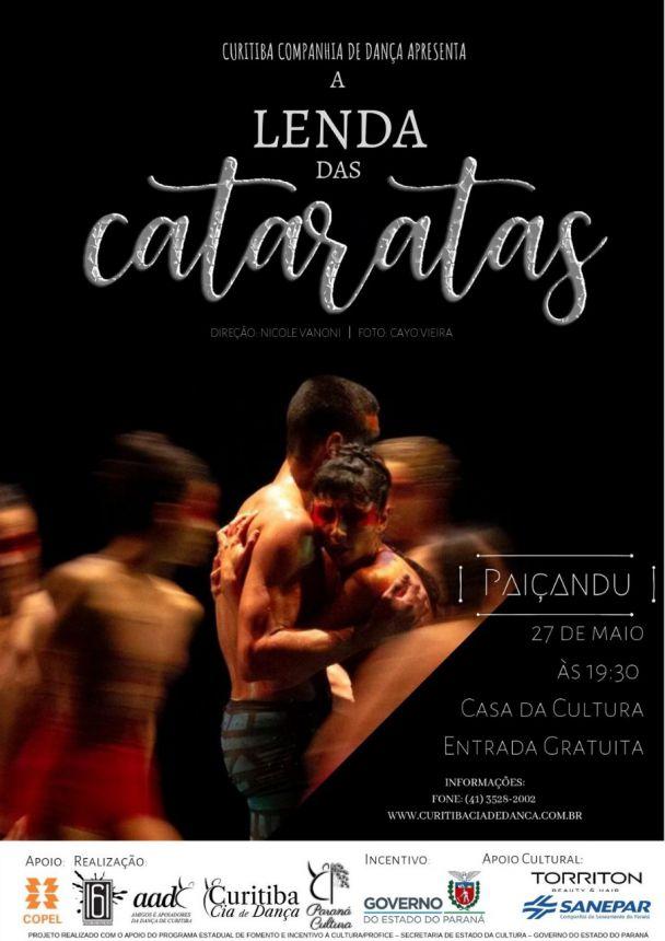 Companhia de Dança de Curitiba se apresentará em Paiçandu