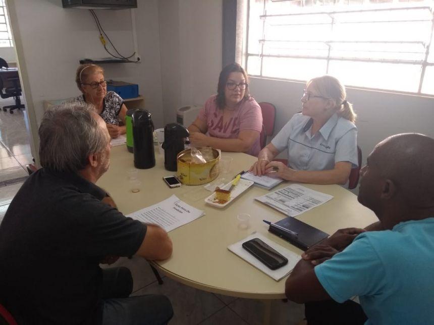 Reunião da comissão da FEIRA DO PRODUTOR com a secretaria de agricultura para a abertura de novas vagas