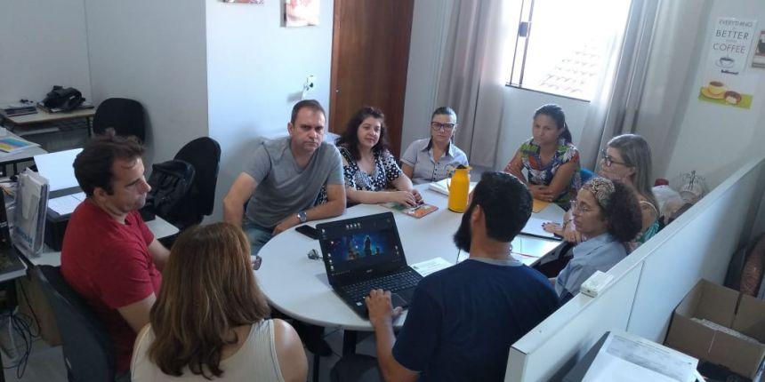 Reunião da Fundação Municipal de Educação