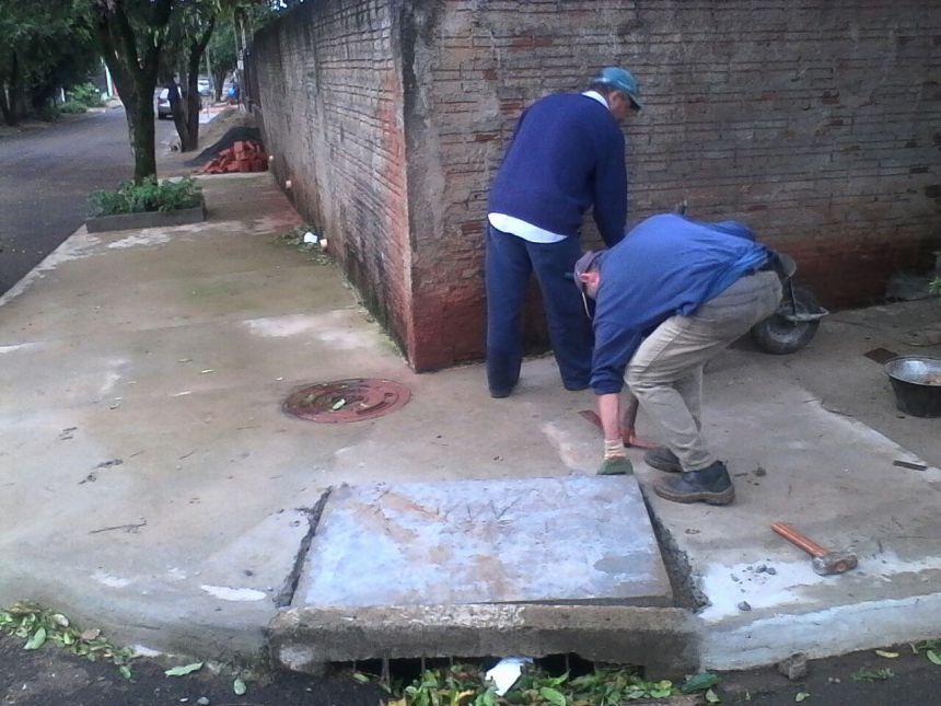 Bueiros são limpos e revitalizados pela Secretaria de Serviços Públicos e Meio Ambiente