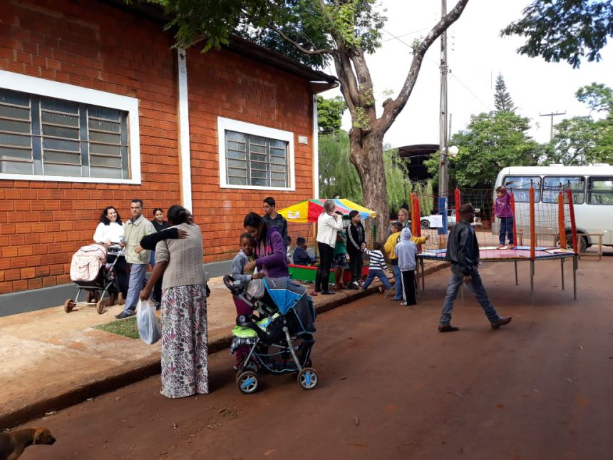 """Secretaria de assistência social realiza programa """"Mais cidadania em Paiçandu"""" no distrito de Água boa"""