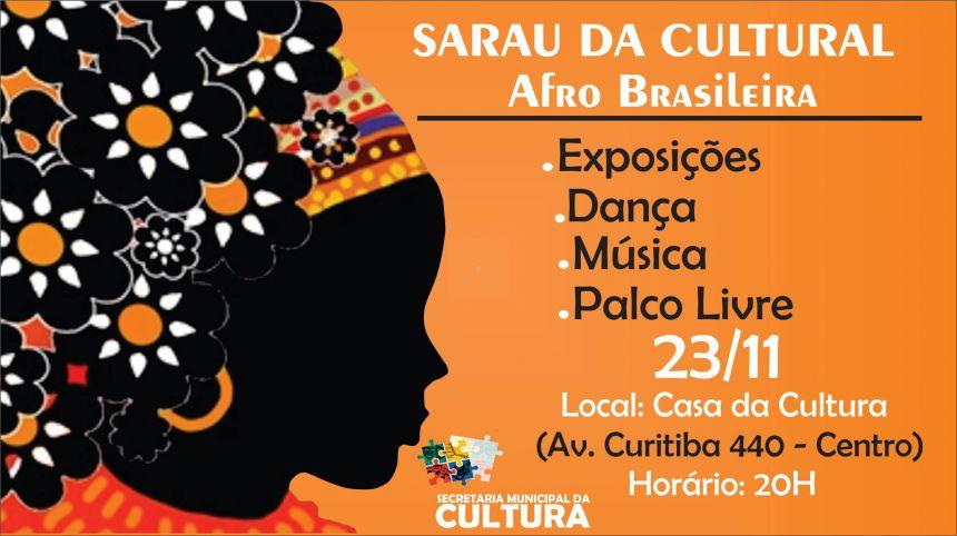 Secretaria da Cultura promove sarau para promover a cultura afro-brasileira