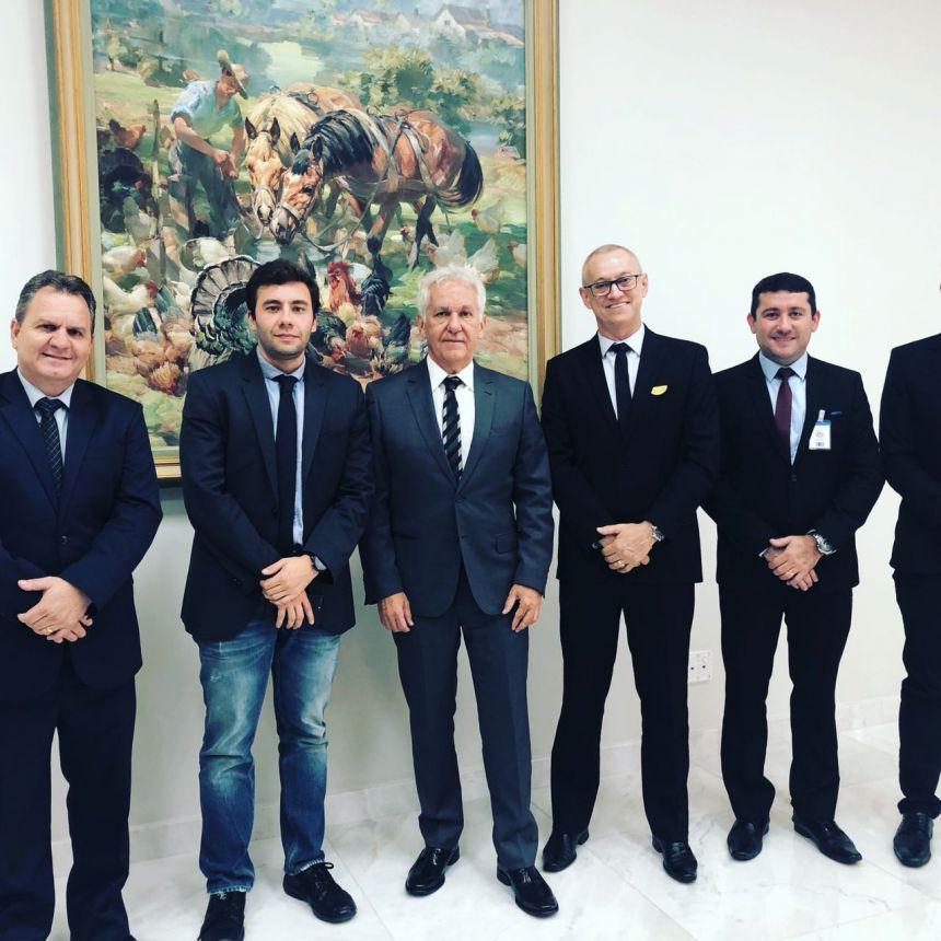 Prefeito e vereadores vão até Curitiba solicitar que Paiçandu vire comarca
