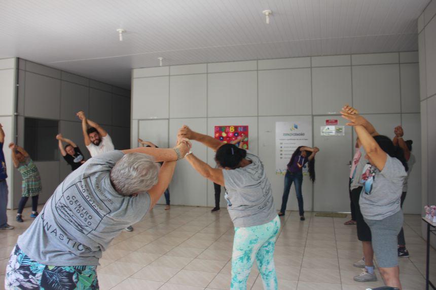 Secretaria de esportes e lazer participa de projeto da FAINSEP na Estação do Ofício