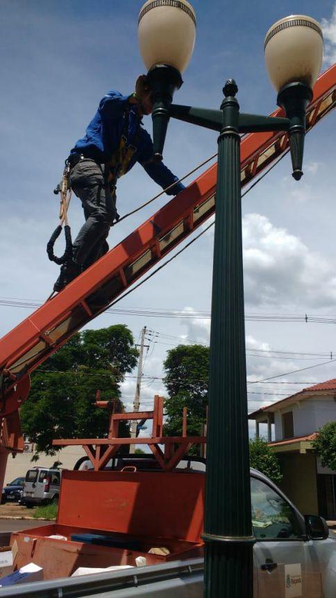 Secretaria de Serviços Públicos realiza manutenção na Rodoviária Municipal