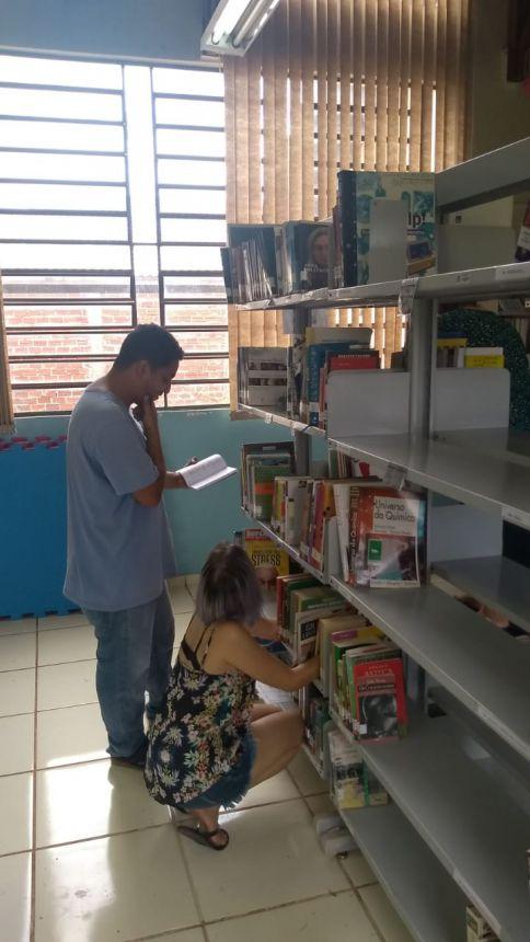 Secretaria de Cultura realiza melhorias na Biblioteca Municipal