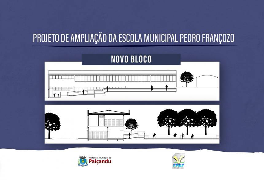 Prefeitura de Paiçandu realizará leilão de terrenos para ampliação de escola