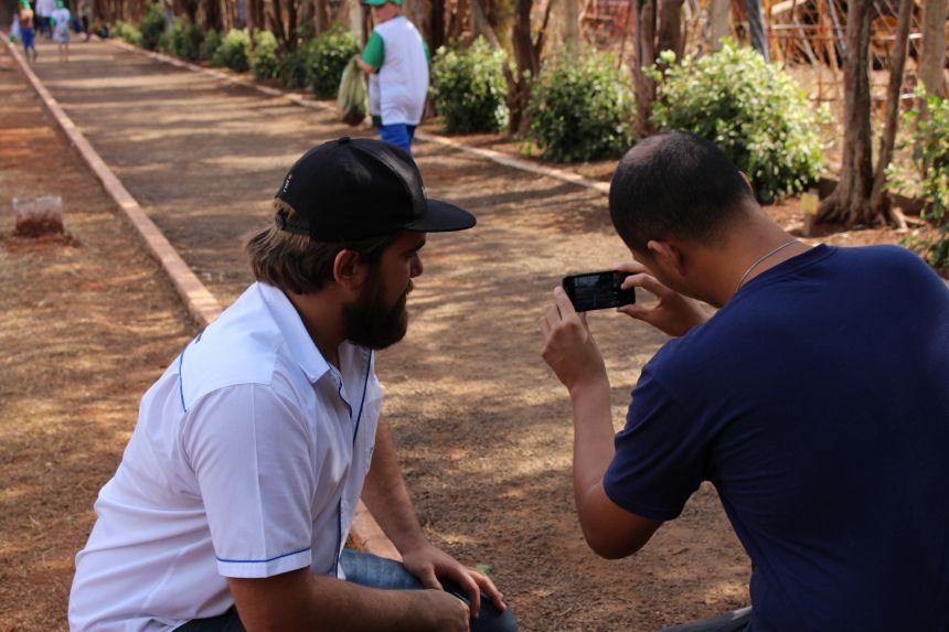 Secretaria de cultura realiza o curso de férias: Fotografando com o celular