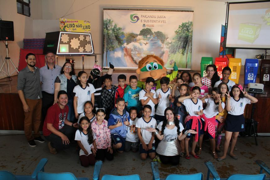 """Secretaria de educação finaliza primeiro módulo do projeto """"Paiçandu justa e sustentável"""""""